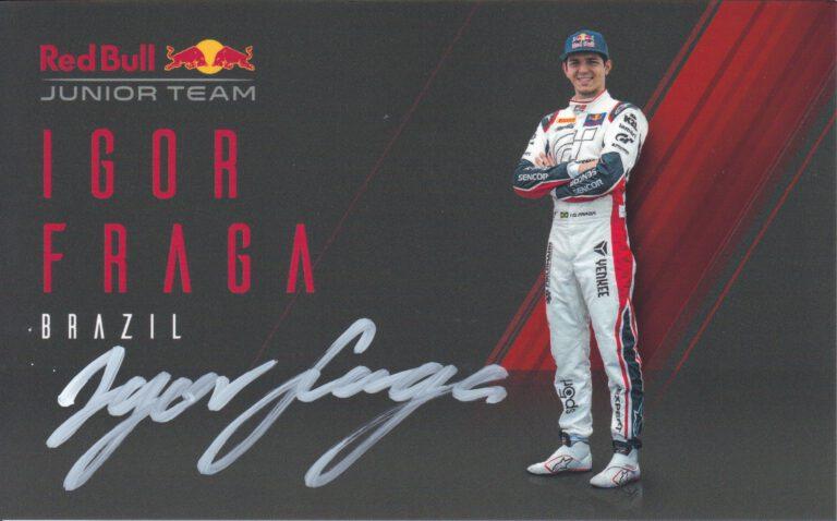 Igor Fraga Red Bull Junior Team 2020