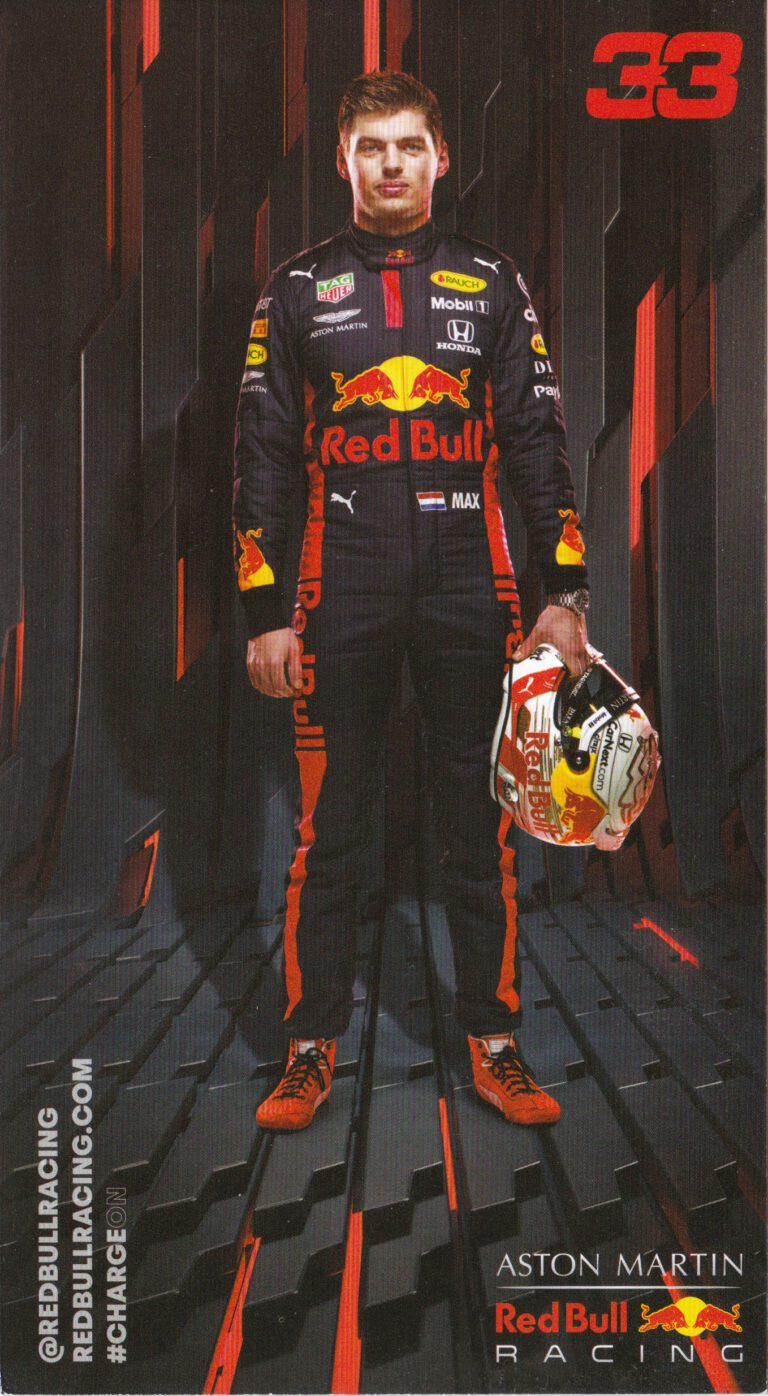 Max Verstappen Red Bull Racing 2020