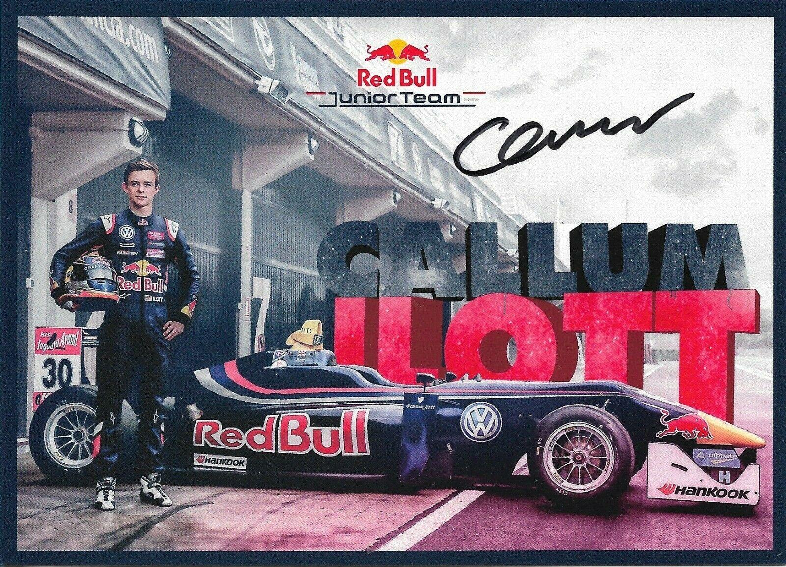 Callum Ilott Red Bull Junior Team 2015