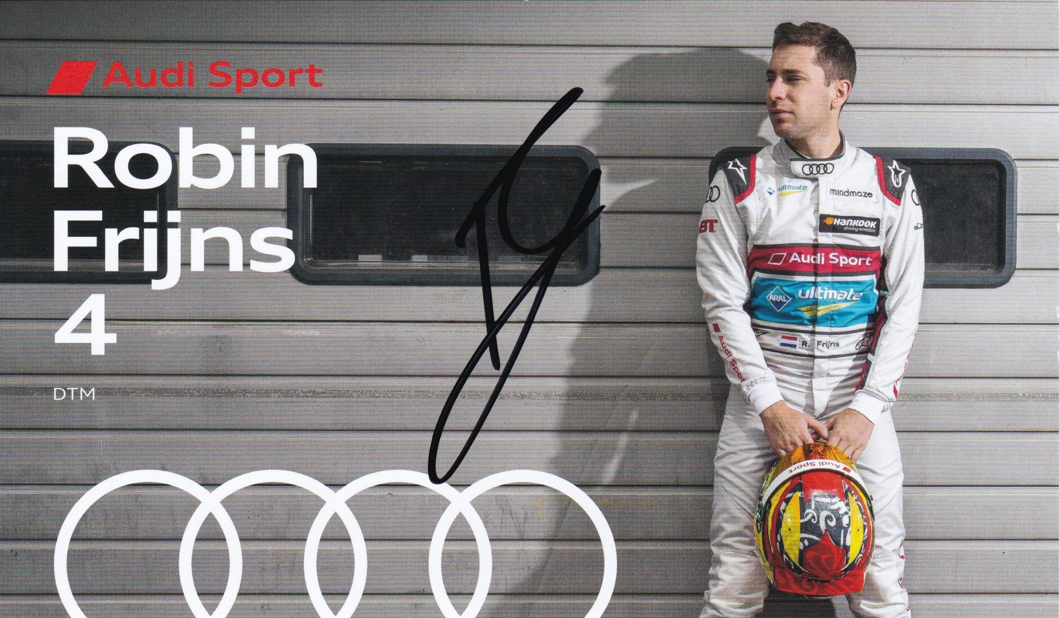 Robin Frijns DTM 2020