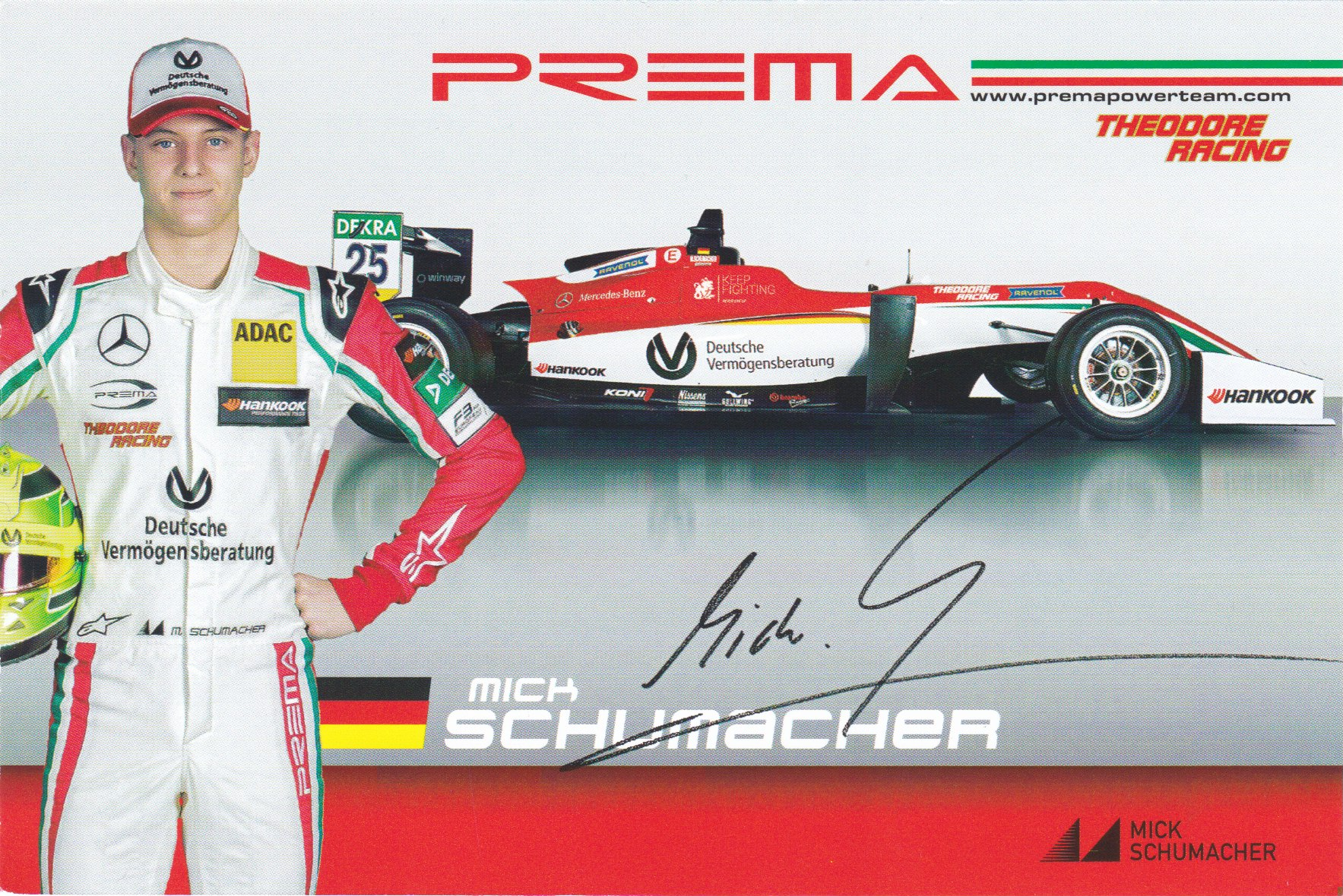 Mick Schumacher Prema Powerteam 2017