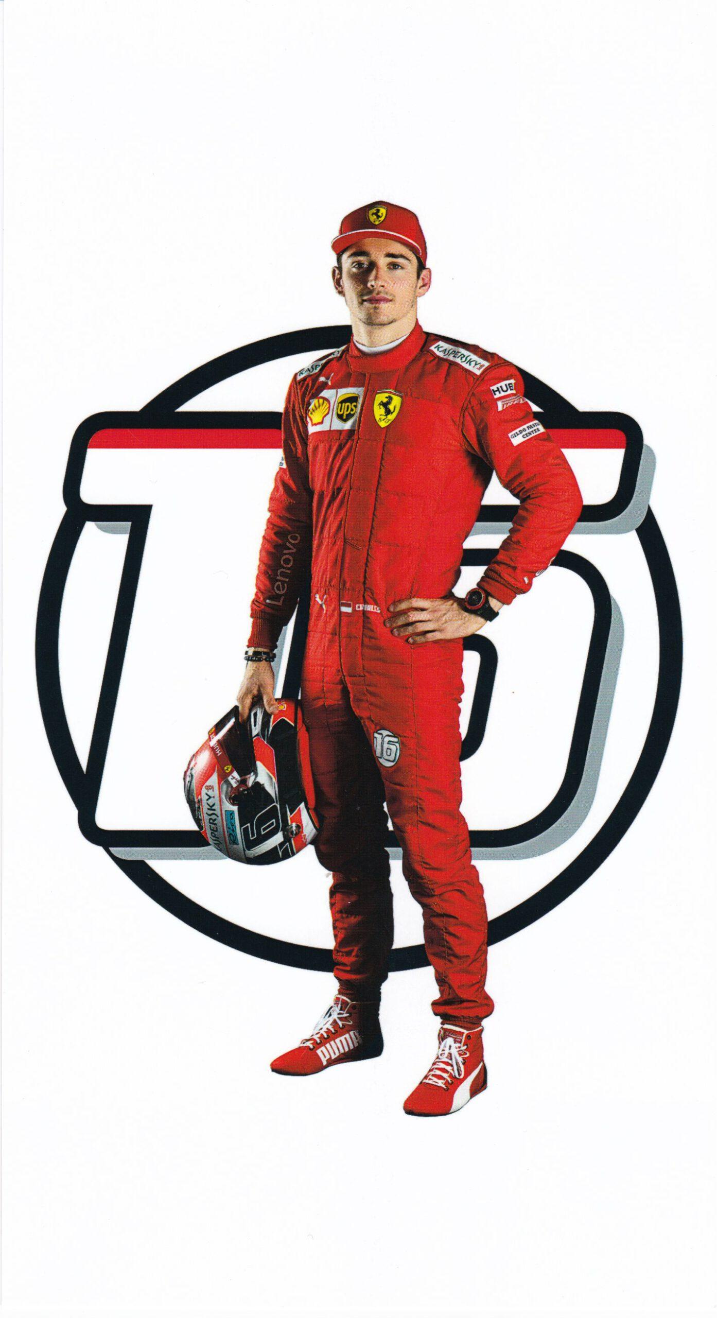 Charles Leclerc Scuderia Ferrari 2019