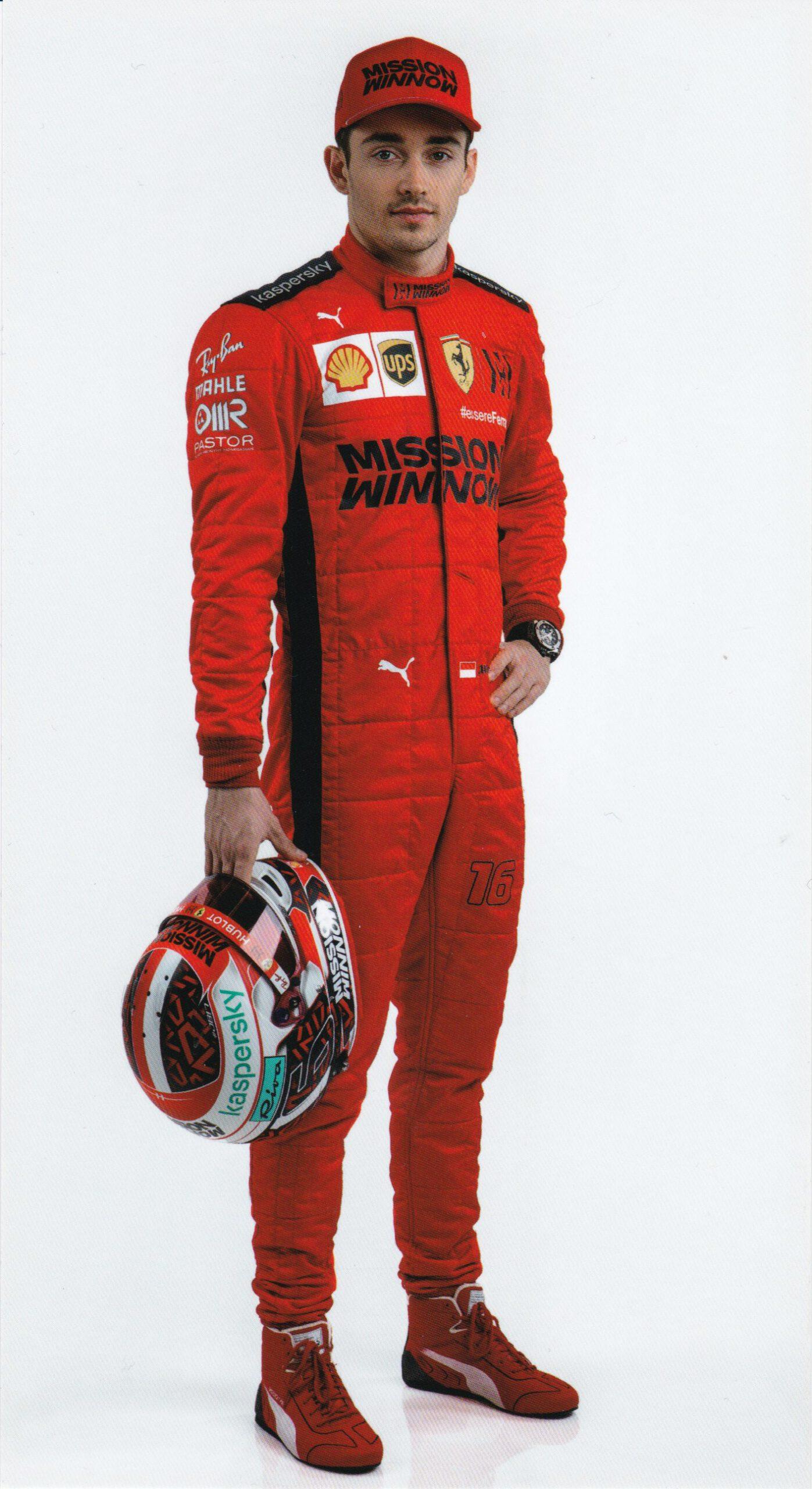 Charles Leclerc Scuderia Ferrari 2020