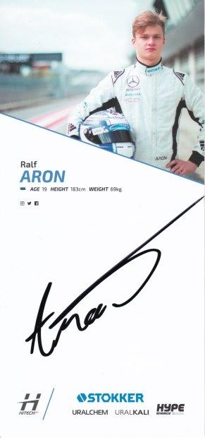 Ralf Aron HitechGP 2017