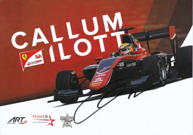 Callum Ilott ART Grand Prix 2018