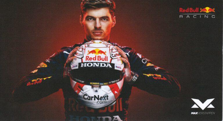 Max Verstappen Red Bull Racing 2021