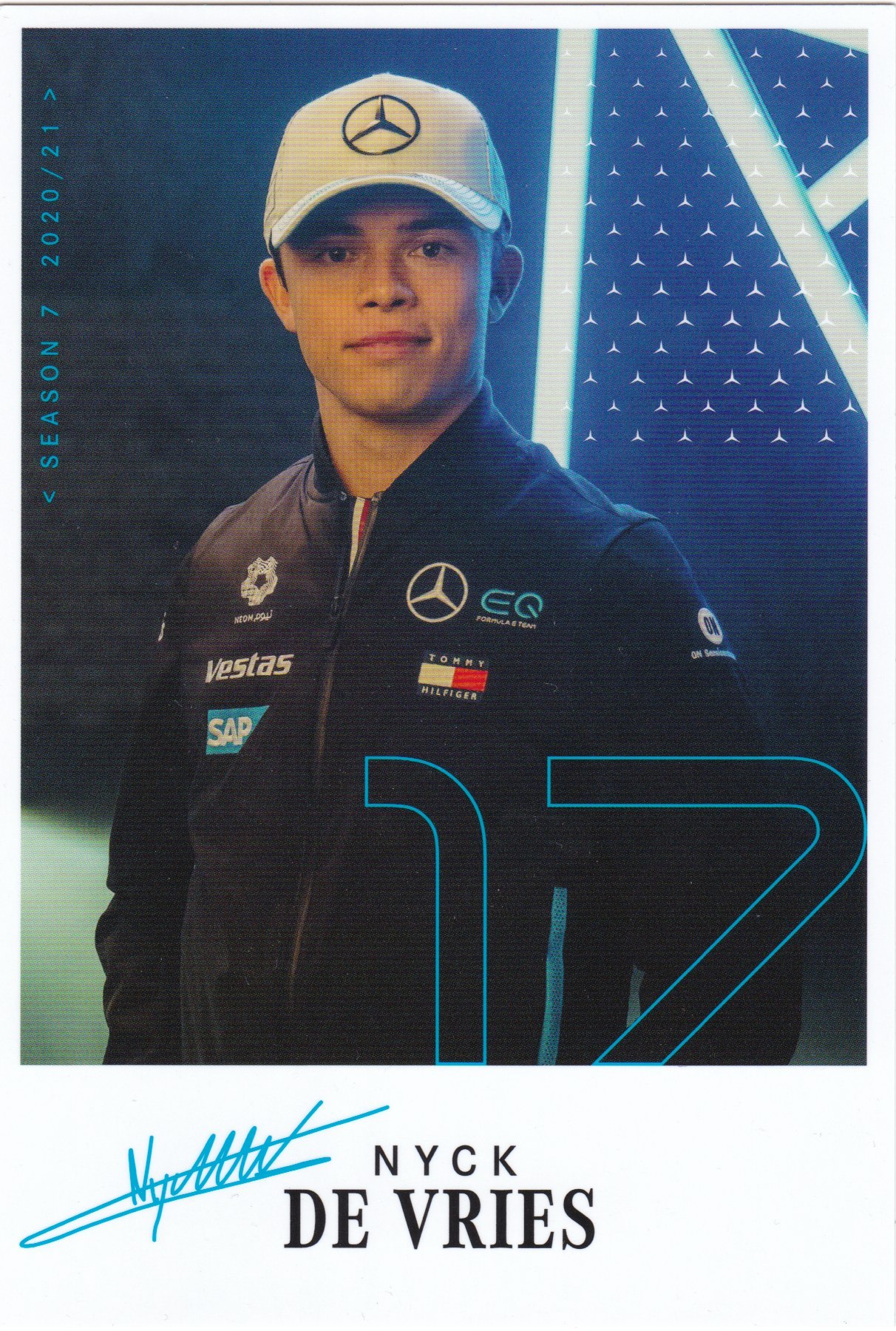 Nyck de Vries Mercedes FE 2020-2021