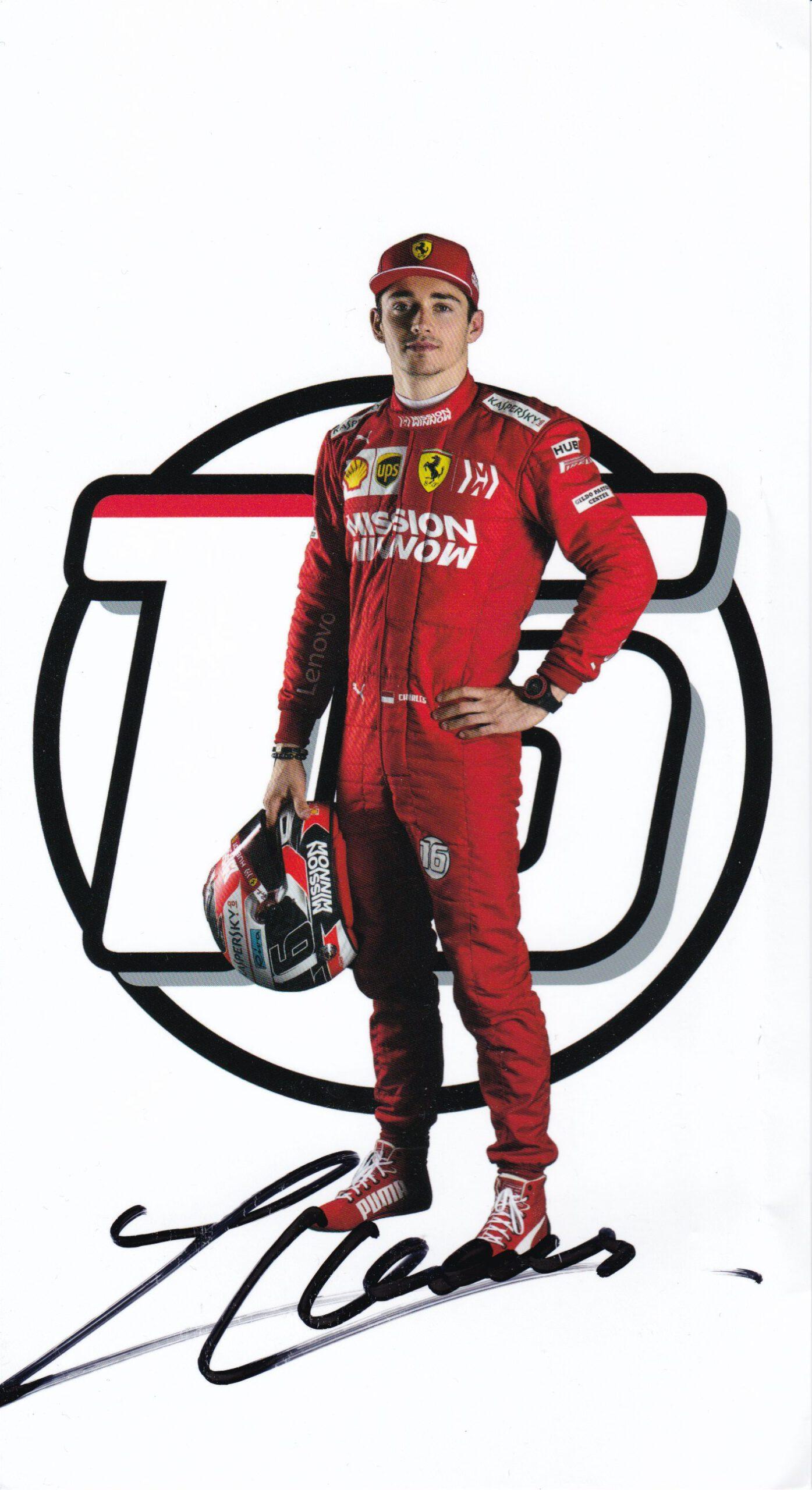 Charles Leclerc 2019 Ferrari