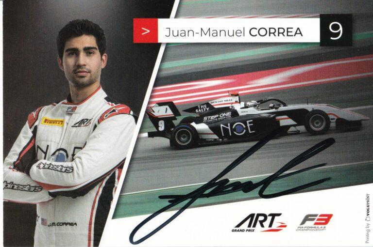 Juan Manuel Correa ART Grand Prix 2021