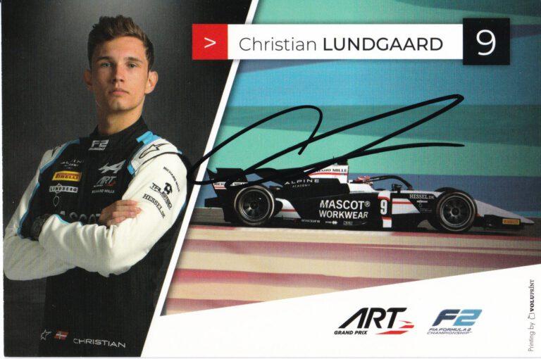 Christian Lundgaard ART Grand Prix 2021