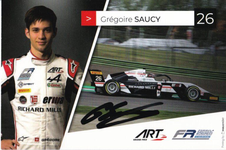 Gregoire Saucy ART Grand Prix 2021