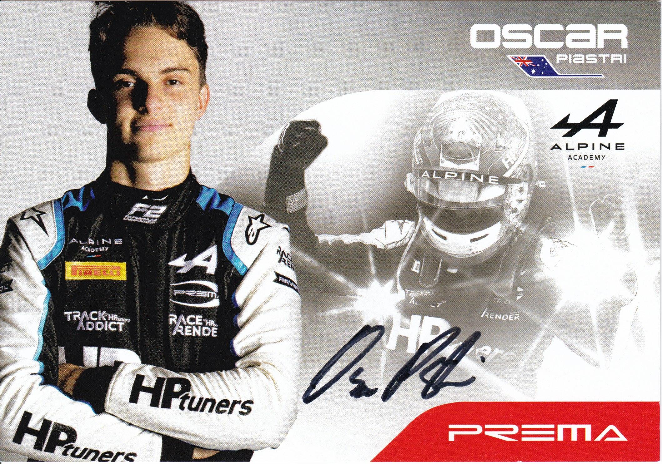 Oscar Piastri Prema Powerteam 2021