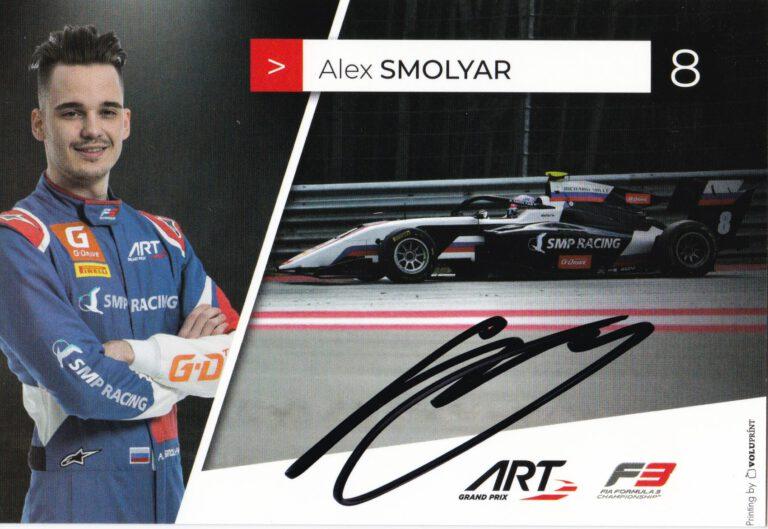 Alex Smolyar ART Grand Prix 2021