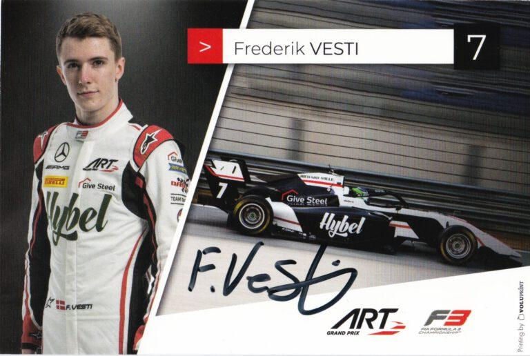 Frederik Vesti ART Grand Prix 2021